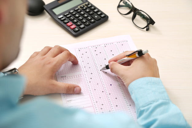 how to fill omr sheet