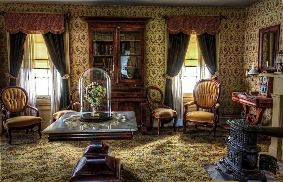 interior decor of room