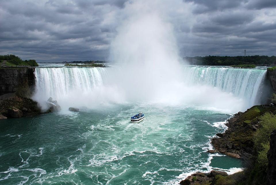 Niagara water fall