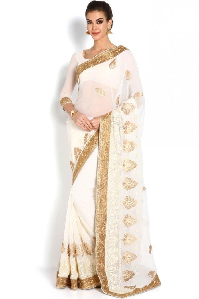 material of your saree