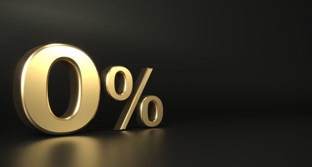 Zero percent installments