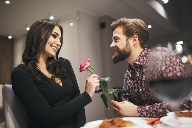 Long Sleeve Dress On A Date Night