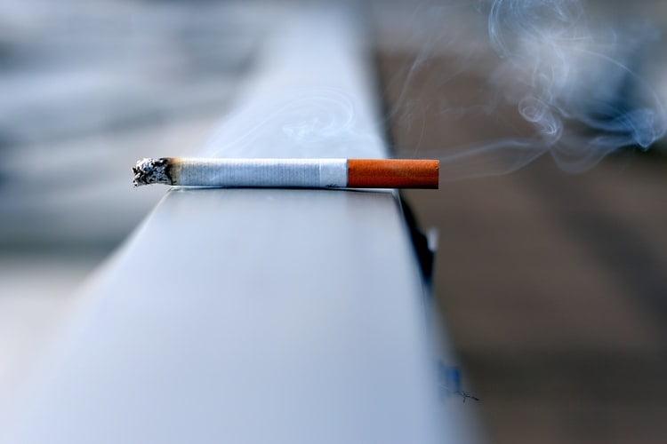 9. Stop smoking: