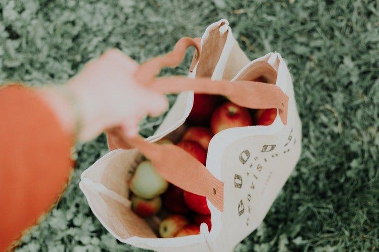 1.Reusable Bread Bags: