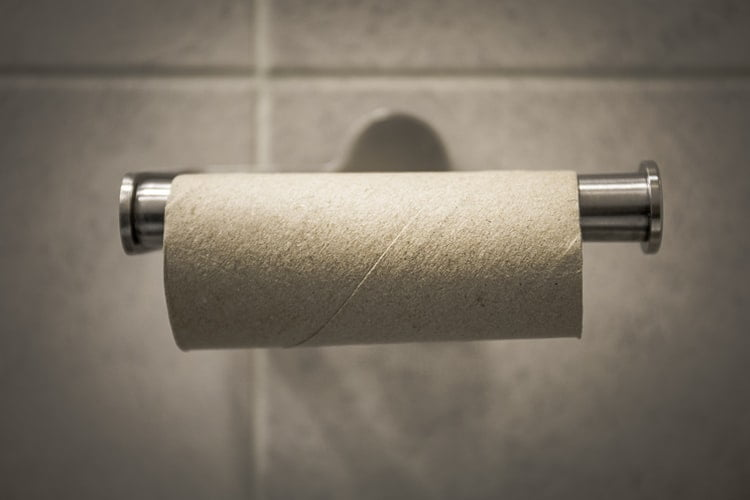 2.Recycled Toilet Paper: