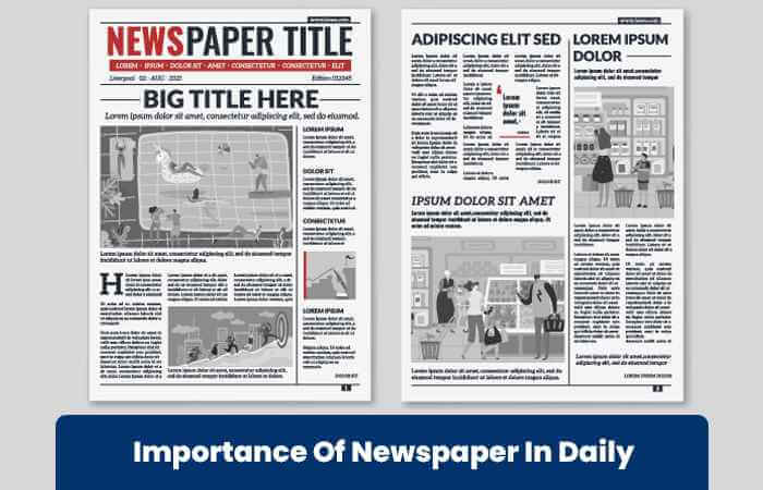 Importance Of Newspaper In Daily Life