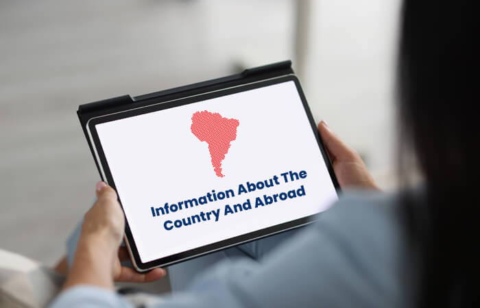 Information About The Country And Abroad
