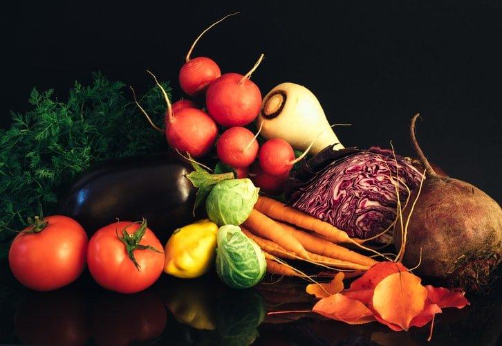 4.Fresh Vegetables