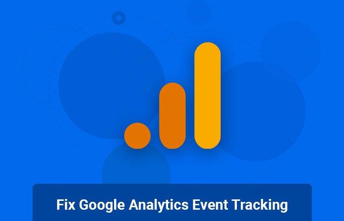 Fix Google Analytics Event Tracking