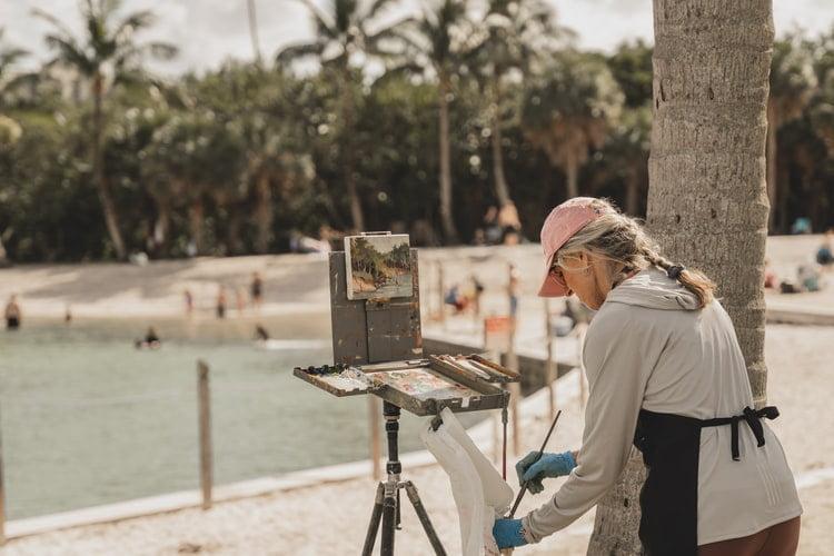 art retreats