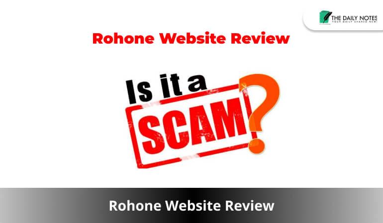 Rohone Website Review
