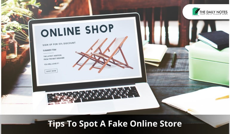 Tips To Spot A Fake Online Store